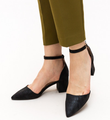 Обувки Devlin Черни