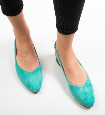 Обувки Esmai Тюркоаз