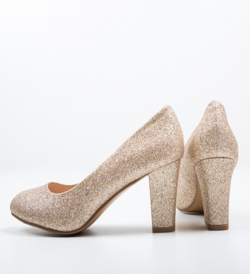 Обувки Esoum Златни