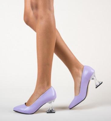 Обувки Garnet Лилав