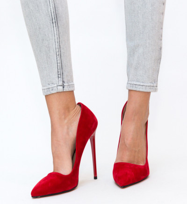 Обувки Groove Червени