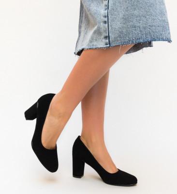 Обувки Habil Черни