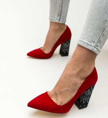 Обувки Jai Червени