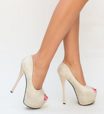 Обувки Joto Бежови