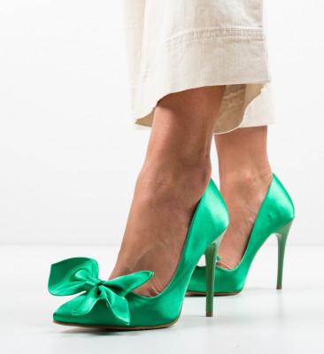 Обувки Juanita Зелени