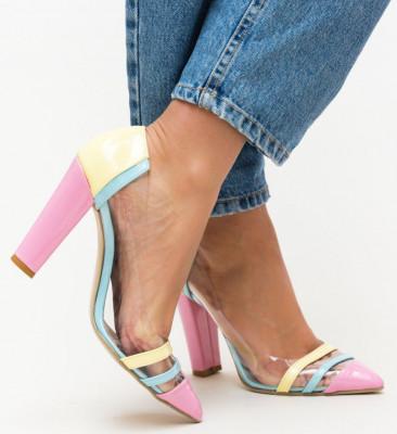 Обувки Kain Жълти