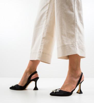 Обувки Manona Черни