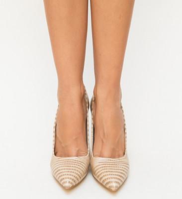 Обувки Merez Бежови 2