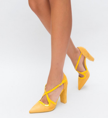 Обувки Tiran Жълти