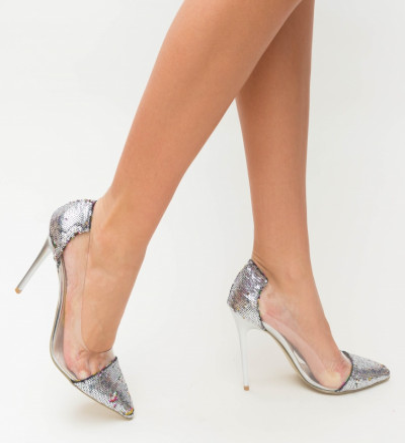 Обувки Vimer Сребърни