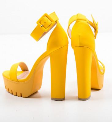 Сандали на ток Asmaa Жълти