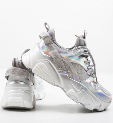 Спортни обувки Decene Сребърни