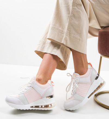 Спортни обувки Lilith Розов