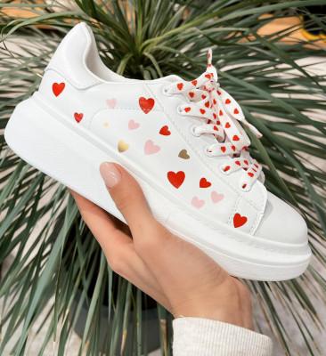 Спортни обувки Loove Бели