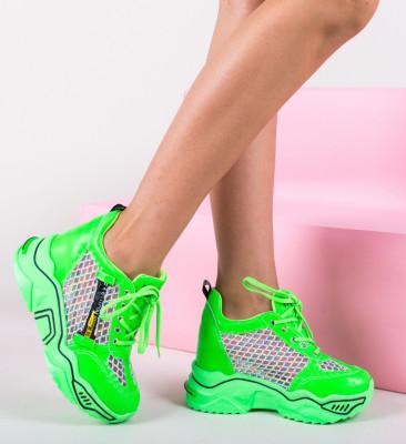 Спортни обувки Sprank Зелени
