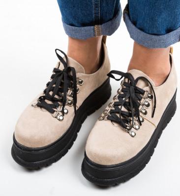 Ежедневни обувки Aftero Бежов