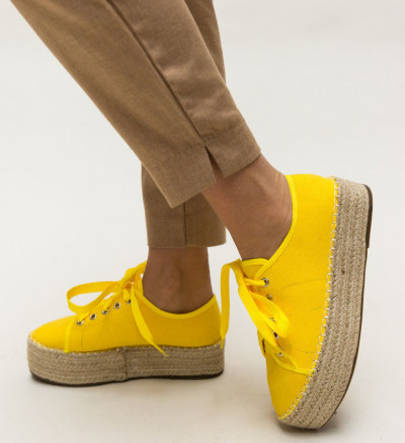Ежедневни Обувки Aldred Жълти