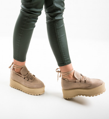 Ежедневни обувки Dreaam Бежов