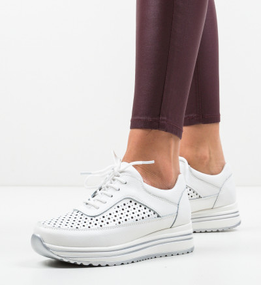 Ежедневни обувки Eve Бели