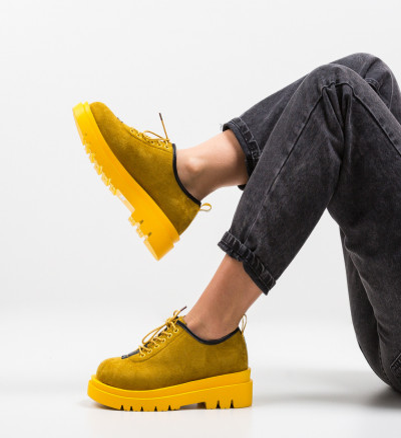 Ежедневни обувки Kajal Жълти