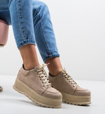 Ежедневни обувки Kisio Бежов