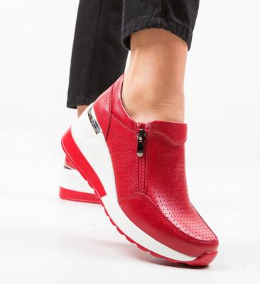 Ежедневни обувки Lynsey Червени