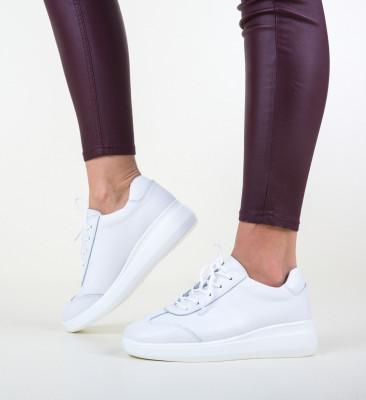 Ежедневни обувки Sash Бели