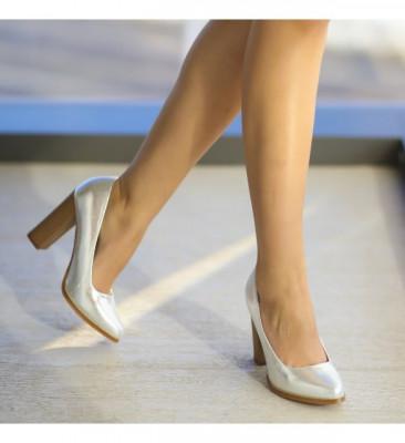 Обувки Геби Сребърни
