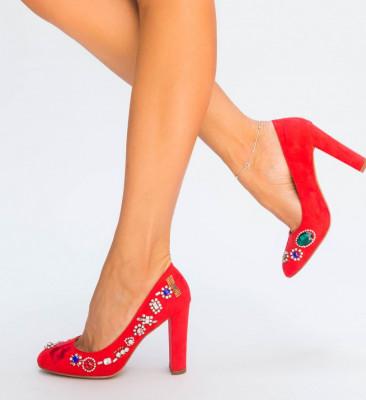Обувки Херкул Червени