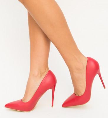 Обувки Beba Червени
