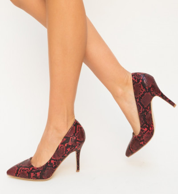 Обувки Dora Червени