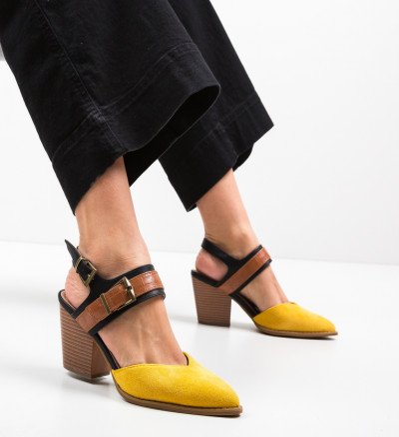 Обувки Doro Жълти