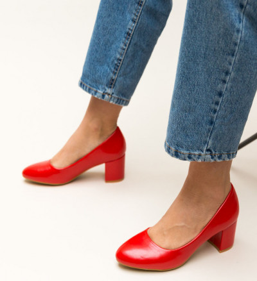 Обувки Hummer Червени