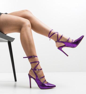 Обувки Janem Лилав