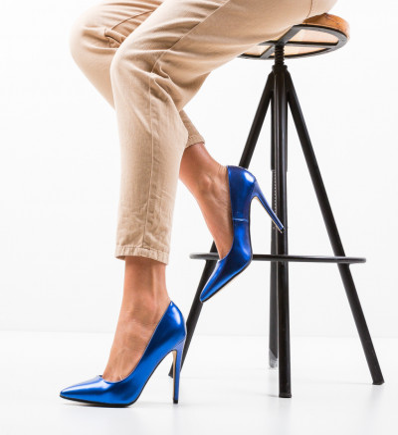 Обувки Kaci Сини