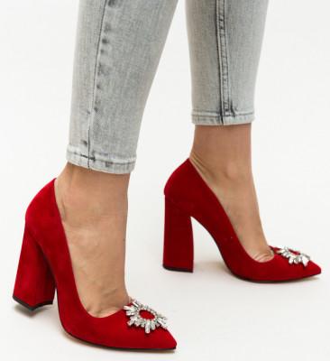 Обувки Maverick Червени