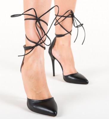 Обувки Pahion Черни