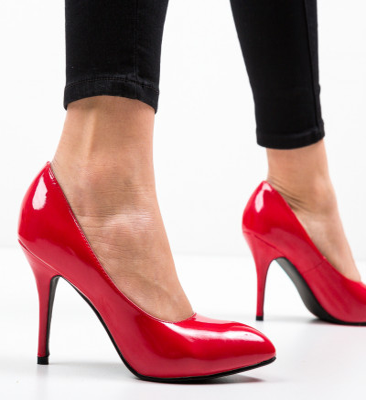 Обувки Rura Червени