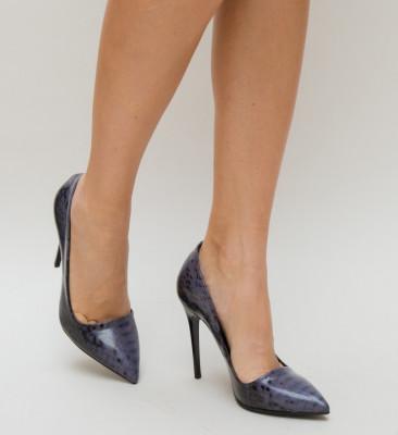 Обувки Sebastia Лилави