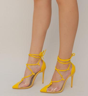 Обувки Simson Жълти