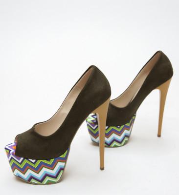 Обувки Tristar Каки
