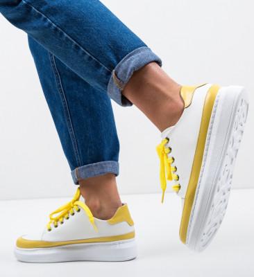 Спортни обувки Acau Бели