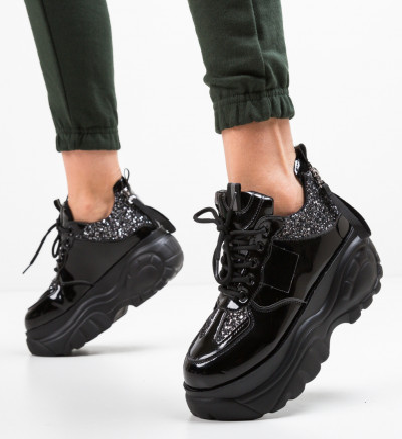 Спортни обувки Iniana Черни