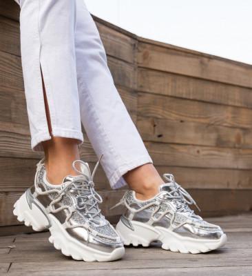 Спортни обувки Sboca Сребърни
