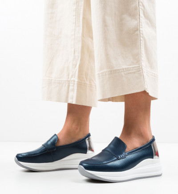 Ежедневни обувки Gilles Тъмносин