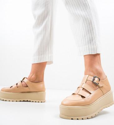 Ежедневни обувки Karagam Бежов