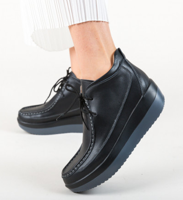 Ежедневни обувки Nash Черни