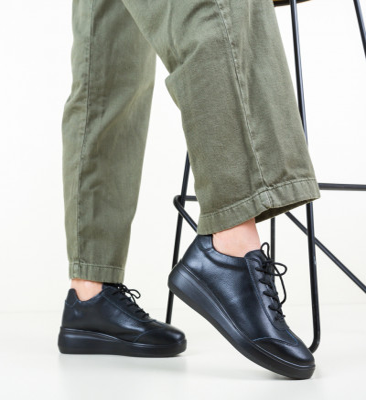 Ежедневни обувки Sash Черни