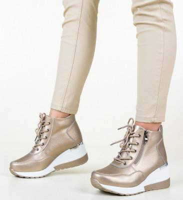 Ежедневни обувки Vance Златни