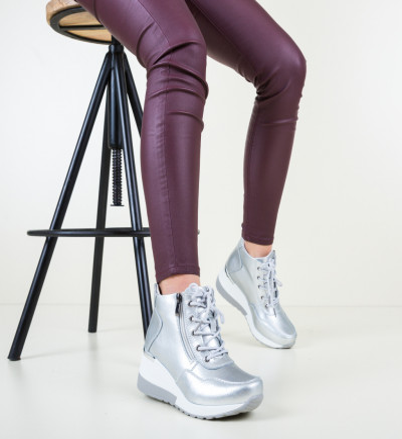 Ежедневни обувки Vance Сребърни